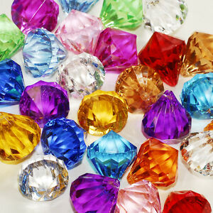 Assorted pirate gems diamonds jewels party favor for Decoration jewels mhw