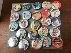 1987-SET-OF-24-MAD-MAGAZINE-PROMOTIONAL-PIN-BACK-BUTTONS-ALFRED-E-NEWMAN