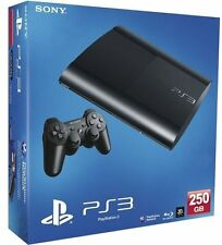 Sony PlayStation 3 Super Slim 250GB Charcoal Black Console PS3 BRAND NEW, SEALED