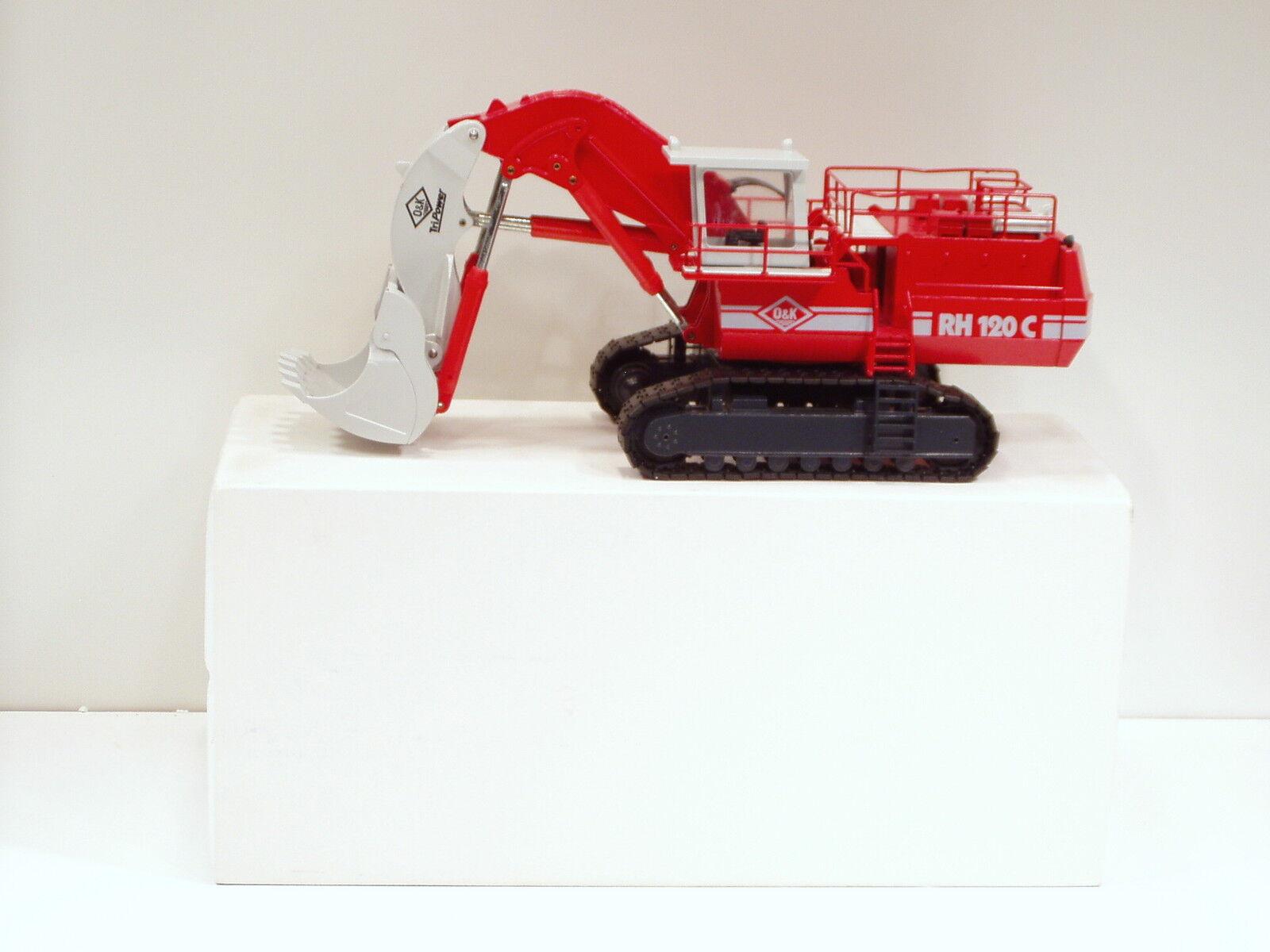 edición limitada O&K rh120c Pala -  gris palo  - - - 1 50-Conrad   2771-n.mib  seguro de calidad