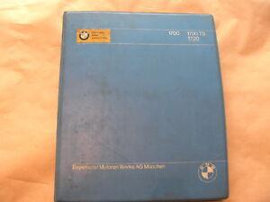 Ersatzteilliste-Ersatzteilkatalog-BMW-Glas-1700-1700TS-Original-Dezember-1968