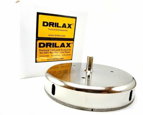 Drilax 6 inch Diamond Hole Saw Drill Bit Tile Glass Granite Ceramic Porcelain in