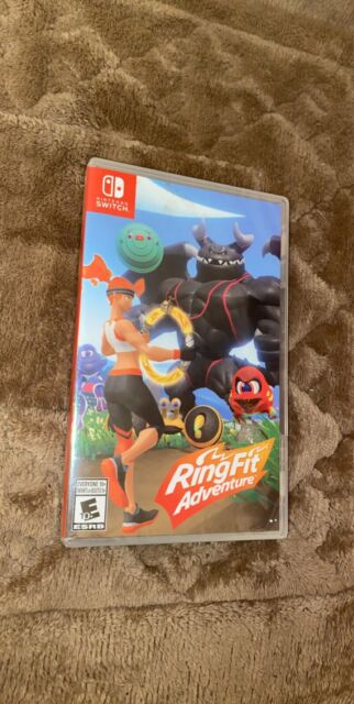 Ring Fit Adventure - Standard Edition (Nintendo Switch, Game ONLY, SEALED)