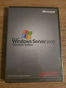 Brillant Microsoft Windows Server 2003 Standard Edition - 180 Jour Evaluation Edition-afficher Le Titre D'origine