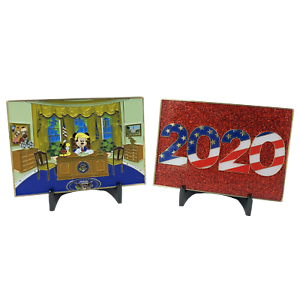 KK-011 Donald Trump Mickey Mouse Disney Parody Challenge Coin White House 2020 M