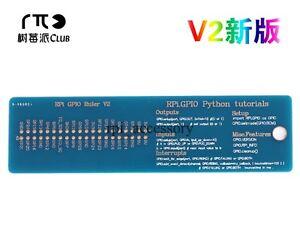Details about Raspberry Pi GPIO Python Tutorial Ruler For Raspberry Pi  3/2/B+ GPIO Interface