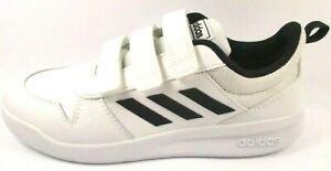 Détails sur Adidas Tensaur C Sneakers Baskets Enfant Garçon EUR 38 UK 5 US 5,5 Blanc Noir