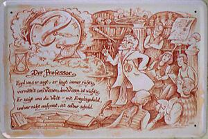 30 x 20 cm Schlosser Blechschild leicht gewölbt Beruf