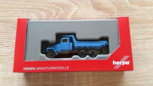 Neu Blau Herpa 307581-1//87 Ifa G5 Muldenkipper