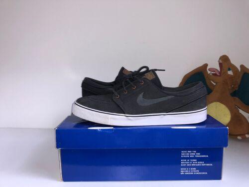 deporte Stefan Nike Británico us Uk Tan 10 de antracita Zapatillas 9 negro Janoski 6wqx5nRt