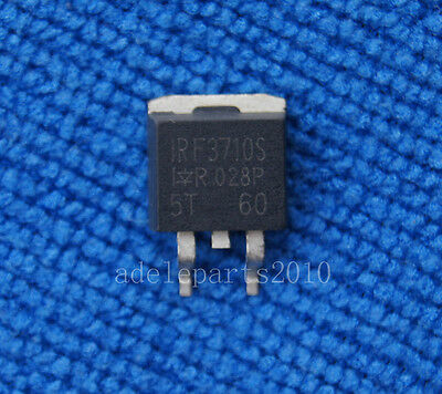 2pcs IRF3710S F3710S  SMD Power MOSFET 57A 100V TO-263