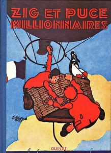 Zig-et-Puce-Millionnaires-Alain-Saint-Ogan-Eds-Glenat-1995