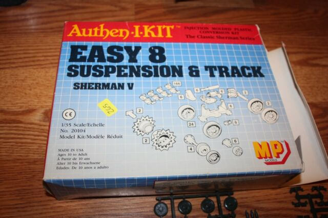 MP Model Authen.I.KIT EASY 8 Suspension & t\Track Sherman V 1/35
