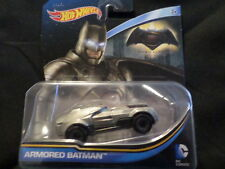 2016 HOT WHEELS DC UNIVERSE ARMORED BATMAN HW HOTWHEELS SLVR BATMAN VS SUPERMAN