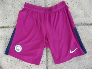Short-MANCHESTER-CITY-UMBRO-2018-away-football-NIKE-DRI-FIT-M