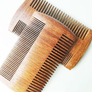 Double-Sided-Sandalwood-Beard-Comb-Wood-Comb-Hair-Care-Handmade-Anti-Static-Comb