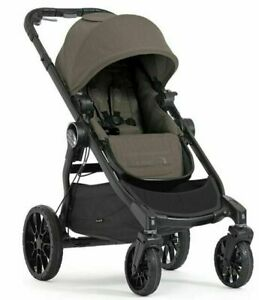 Baby Jogger City Select Lux Compact Fold All Terrain Stroller - Taupe - GallyHo