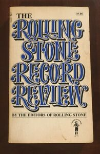 THE ROLLING STONE MAGAZINE RECORD REVIEW 1971 Pocket Edition ...