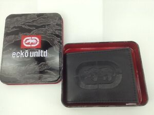 Men/'s ECKO UNLIMITED Black RHINO Pass case Wallet 25/% off $45 MSRP