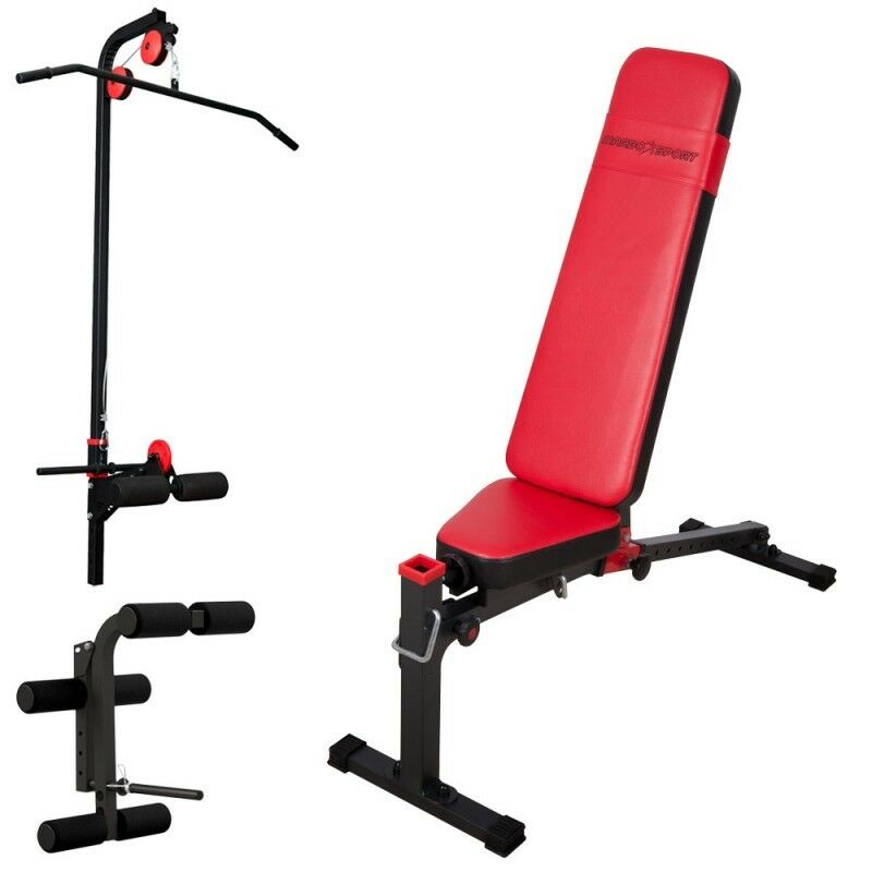 Weight bench with lat and beinbeuger Marbo-Sport ms-z217 Set
