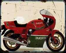 Ducati 900 Mhr 83 4 A4 Metal Sign Motorbike Vintage Aged