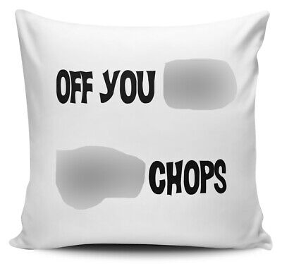 Personalised Rude Funny Prosecco S/'/'tfaced Cushion Cover Mothers Day Gift