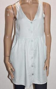 COTTON-ON-Designer-Summer-Blue-Polly-Button-Thru-Day-Dress-Size-S-BNWT-SO117