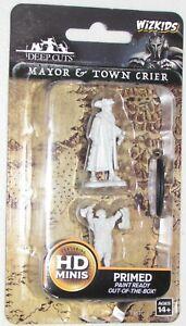 MAYOR & TOWN CRIER Deep Cuts Pathfinder Battles Unpainted Miniatures D Dungeons