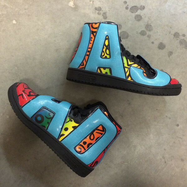Adidas Jeremy Scott Letters Multicolor, Brand New, Style Style Style No  D65213 99819b