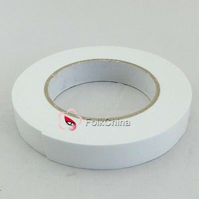Double Sided Tape Adhesive Tape Foam Double Sided Tape New 18mm X 1mm x 5M