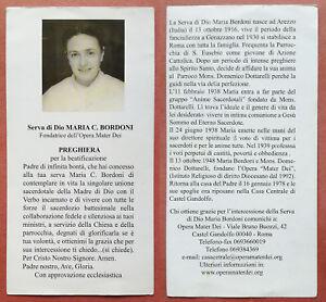 Santino-Holy-Card-Serva-di-Dio-Maria-C-Bordoni