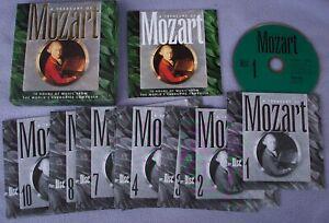 TREASURY-OF-MOZART-Philips-10-x-CD-Alfred-Brendel-Jack-Brymer-Neville-Marriner