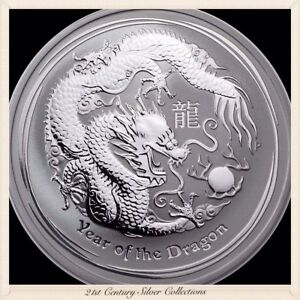 2012-Australia-1-Oz-Silver-Lunar-Series-Two-Year-Of-The-Dragon
