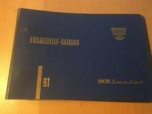 Ersatzteilkatalog-fuer-DKW-Junior-gebraucht-Oldtimer