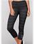 AUTH NWT LORNA JANE Ophelia Support 7//8 Tight Legging Pants BLACK MARL $96
