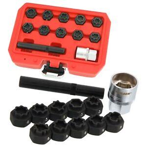 MERCEDES-Benz-bloccaggio-Dado-ruota-Remover-Installer-12pcs-KIT-MASTER-lotti-i-modelli