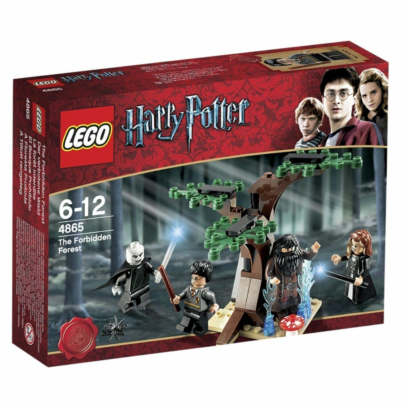 NEW IN BOX - LEGO Harry Potter The Forbidden Forest - 4865 - 64 pieces - RETIrouge