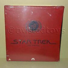 1995 PIONEER / PARAMOUNT STAR TREK THE PILOTS LASER DISC LASERDISC PAL BOX SET