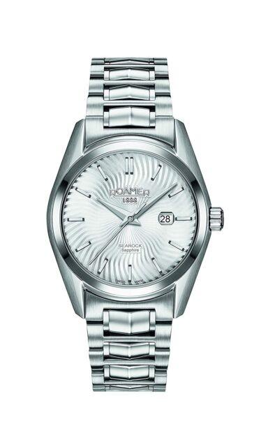 Roamer Women's Quartz Watch Silver Dial Silver Stainless Steel Bracelet 20384