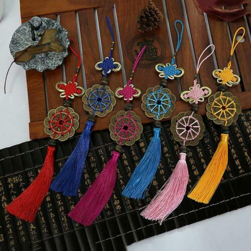 Key Rings Tassel Pendant Fashion Accessories Cars Wind Chimes Chinese Knot SM