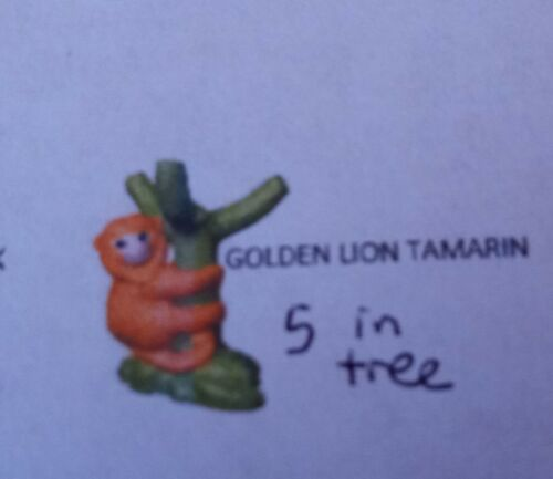 Kinder egg toy Natoons Animal Adventures owl macaw tamarind Choose your animal