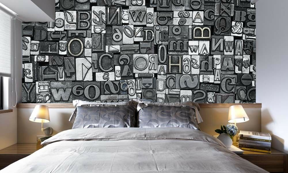 3D Letters Fashion 56 Wall Paper Wall Print Decal Wall Deco Indoor Mural Lemon