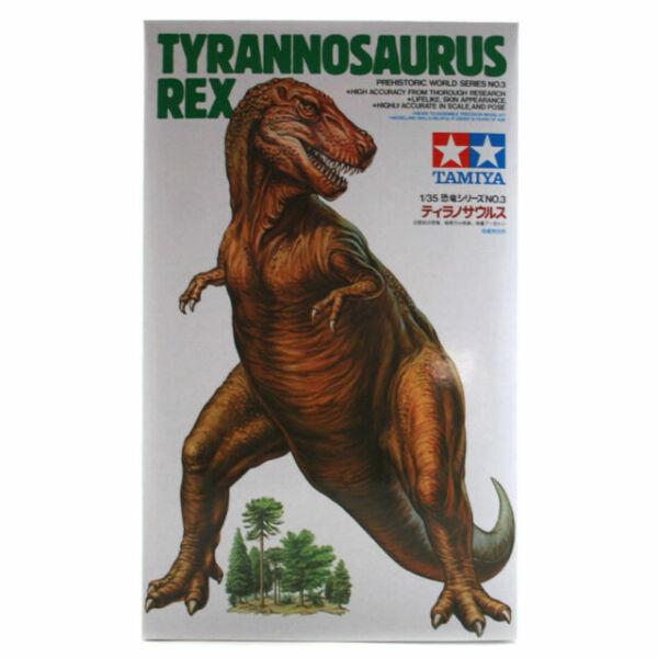 Tyrannosaurus Rex Dinosaur Model Kit Tamiya 60203