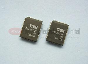 CATALYST-CAT28F512N-12-CAT28F512N-28F512-64K-x-8-Bit-Flash-Memory-PLCC32-X-10pcs
