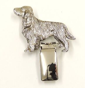 Details about English Springer Spaniel (With Tail), Show Ring Clip/Number  Holder