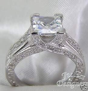 2-54ct-Princess-Cut-Engagement-Anniversary-Ring-Sz-9