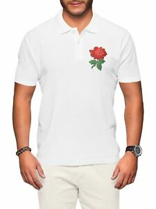 England-Rugby-Polo-Shirt-Men-Rose-Badge-Six-World-Nations-Supporter-Top-Clothes