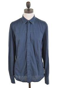 Liu-Jo-Damen-Shirt-Groesse-12-mittel-blau-Baumwolle