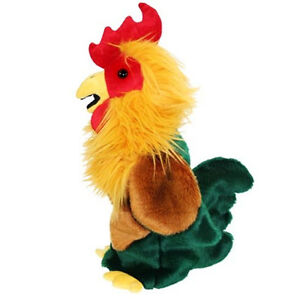 NEW-PLUSH-SOFT-TOY-The-Puppet-Company-Cockerel-Stage-Hand-Puppet-38cm