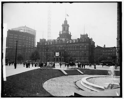 "Louisville Kentucky Vintage Photograph 8.5/"" x 11/"" Reprint 1906 City Hall"